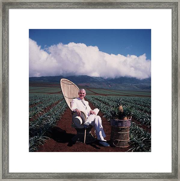 David Murdock Framed Print