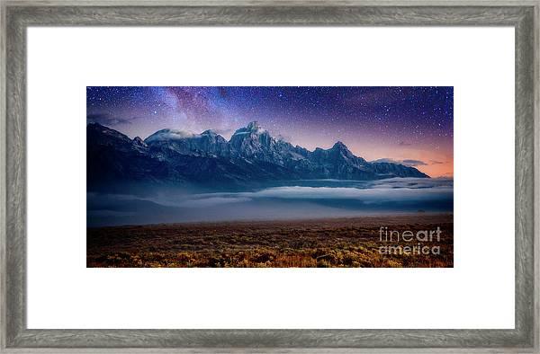 Dawn Breaks Framed Print