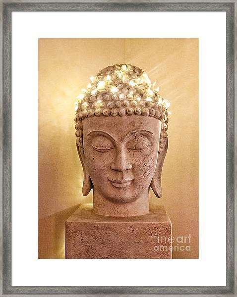 Dawn Buddha  Framed Print