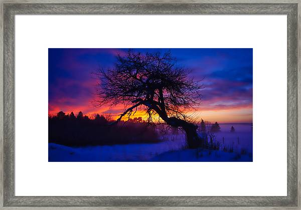 Framed Print featuring the photograph Dawn Dreaming 2 by Bryan Smith