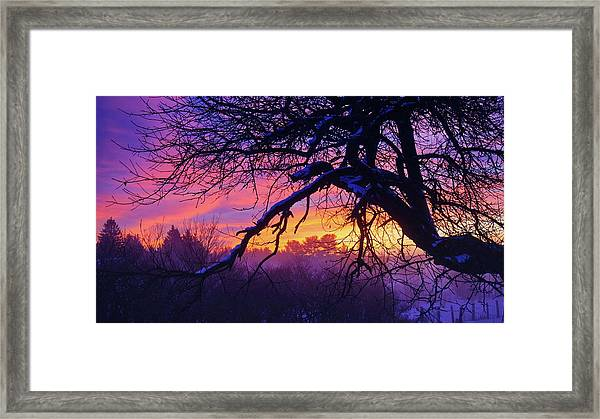 Framed Print featuring the photograph Dawn Dreaming by Bryan Smith