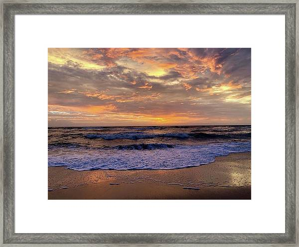 Day After Storm 9/16/18 Framed Print