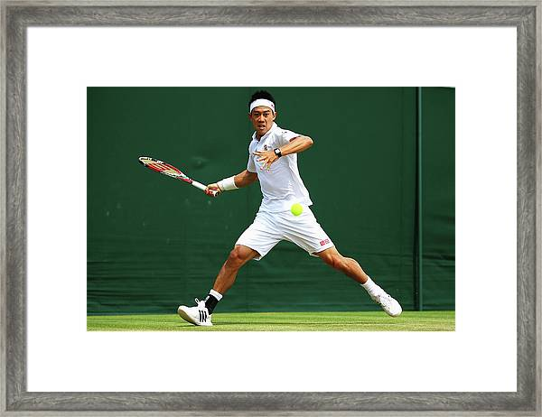 Day Seven The Championships - Wimbledon Framed Print
