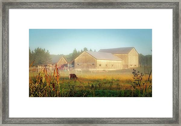 Framed Print featuring the photograph Daybreak by Bryan Smith