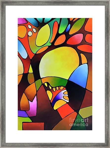 Daydream Canvas Three Framed Print