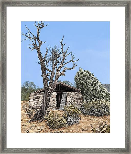 Decay Of Calamity The Half Life Of A Dream Framed Print