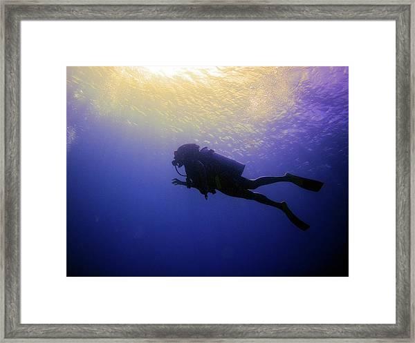 Deep Ascent Framed Print