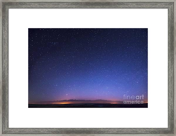 Deep Sky Astrophoto Framed Print