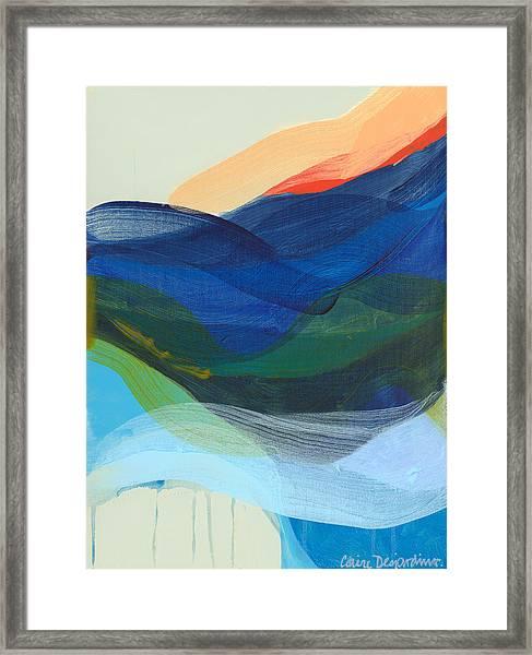 Deep Sleep Undone Framed Print