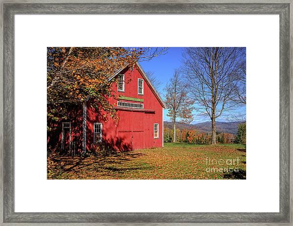 Deerefield Farm Grafton New Hampshire Framed Print