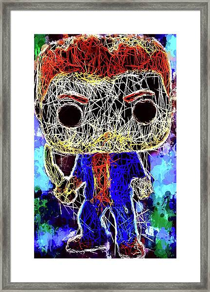 Dean Winchester Supernatural Framed Print