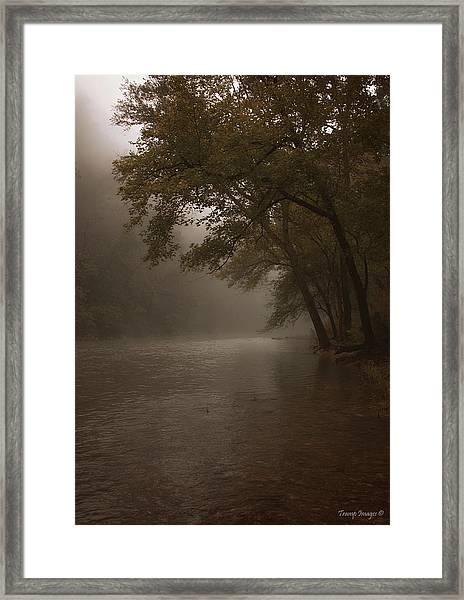 Depth Of Solitude  Framed Print
