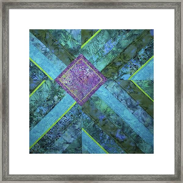 Depth Framed Print