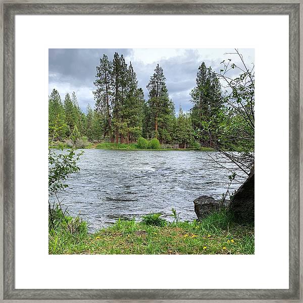 Deschutes River Framed Print