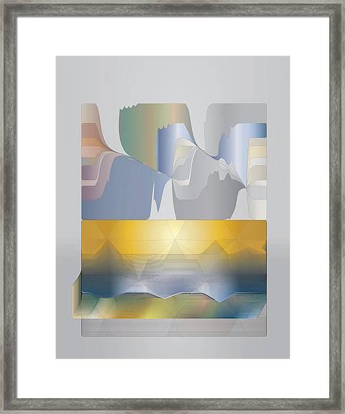 Desert Filter Box Framed Print