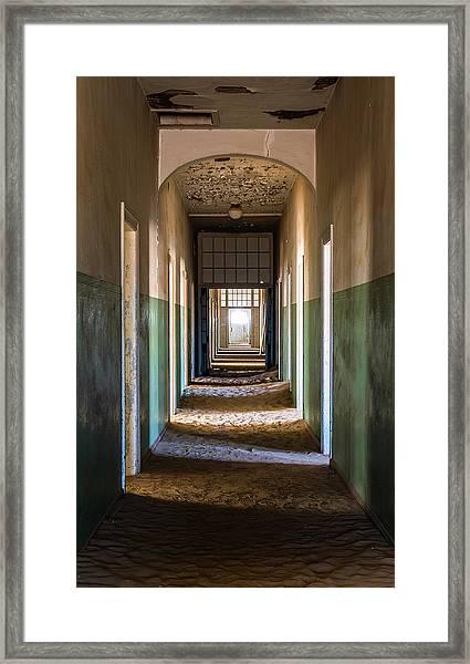 Desert Infirmary Framed Print