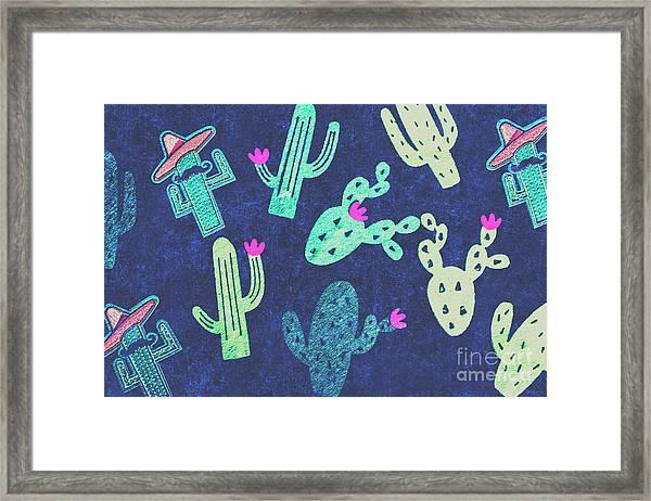 Desert Nights Framed Print