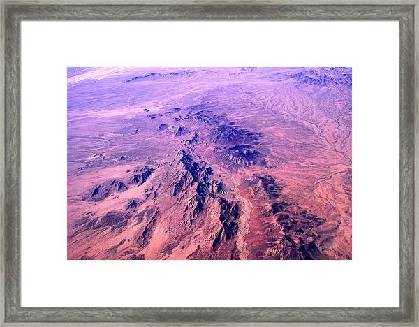 Desert Of Arizona Framed Print