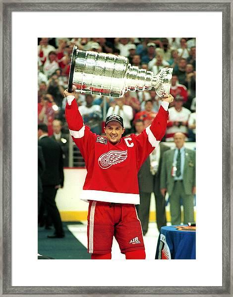 Detroit Red Wings Framed Print