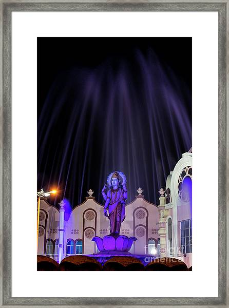 Dhanvantari At Night Framed Print by Tim Gainey