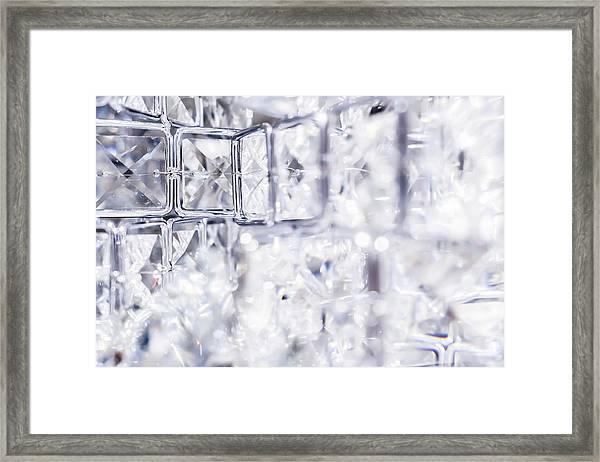 Diamond Shine I Framed Print
