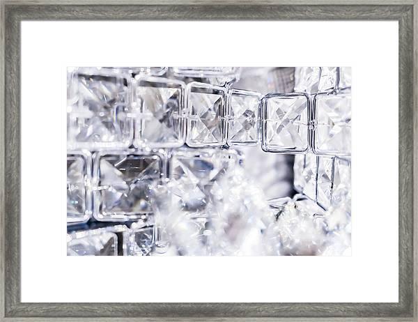 Diamond Shine II Framed Print