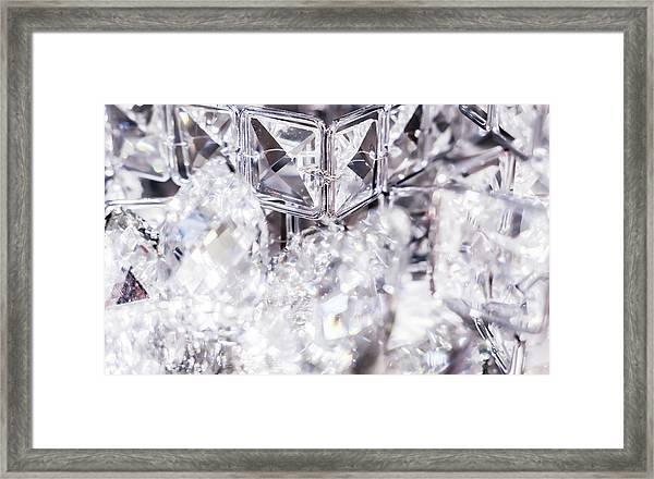 Diamond Shine V Framed Print