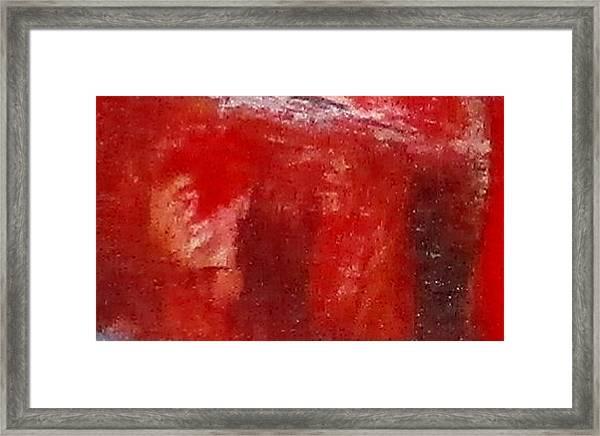 Digital Abstract N12. Framed Print
