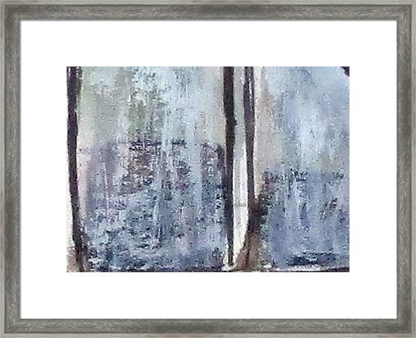 Digital Abstract N13. Framed Print