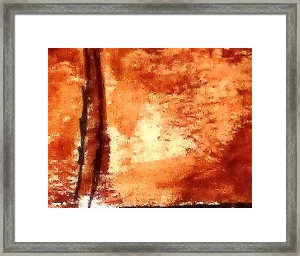 Digital Abstract No9. Framed Print