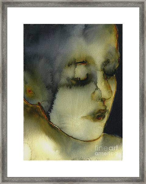 Dirty Yellow Series Number 38 Framed Print
