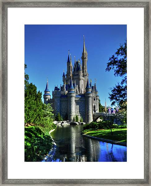 Framed Print featuring the photograph Disney Hdr 002 by Lance Vaughn