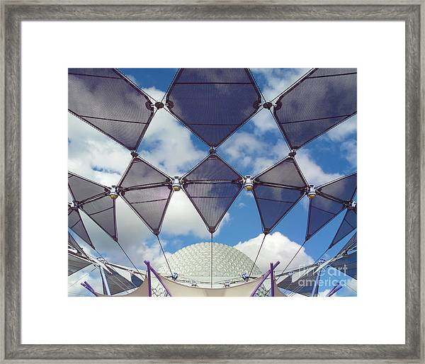 Disney World Showcase Framed Print