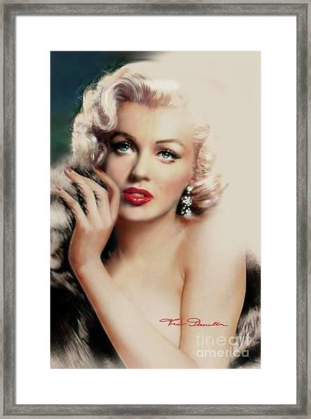 Diva Mm 169 Rose Framed Print