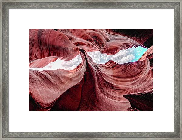 Divided View Framed Print