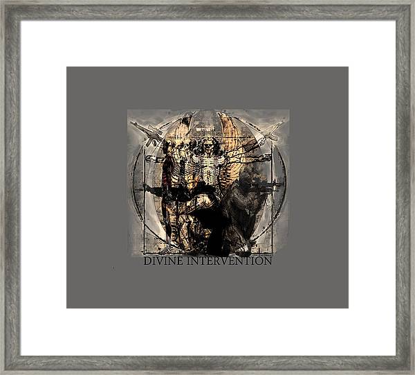 Divine Intervention Framed Print