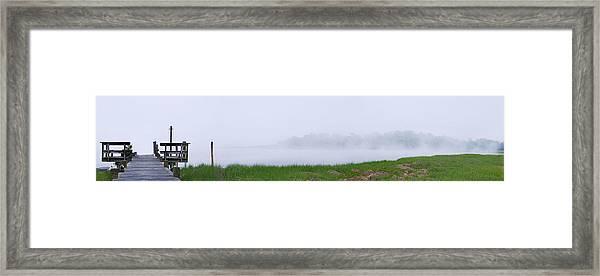 Dock Framed Print