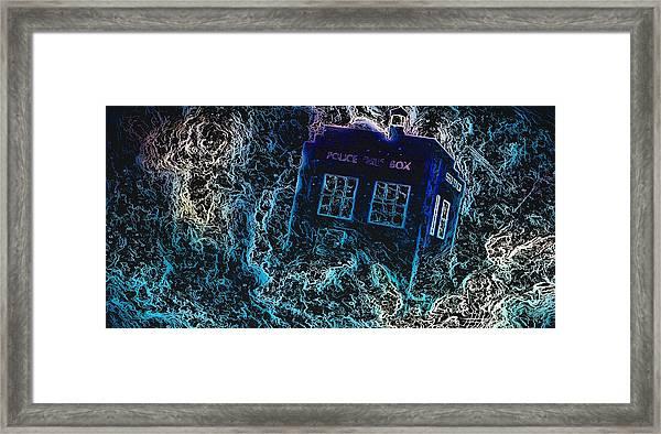 Doctor Who Tardis 3 Framed Print