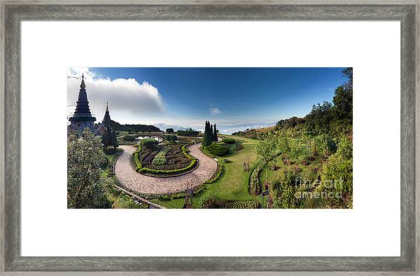 Doi Inthanon National Park Panorama In Framed Print