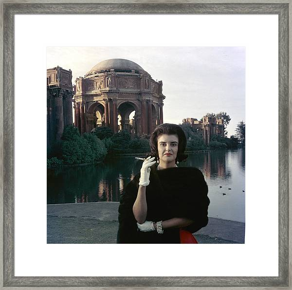 Dolly Fritz Framed Print by Slim Aarons