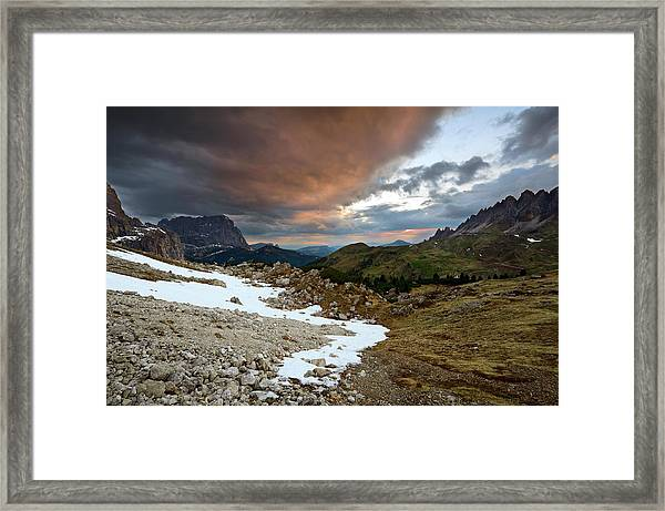 Dolomites, Alps Framed Print
