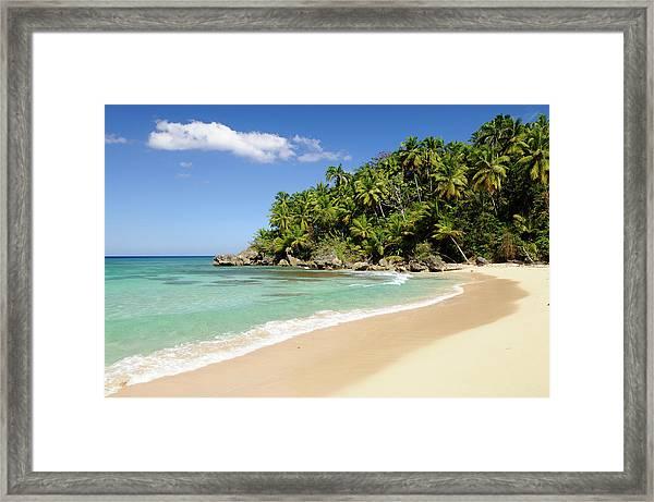 Dominican Republic, Rio San Juan Framed Print