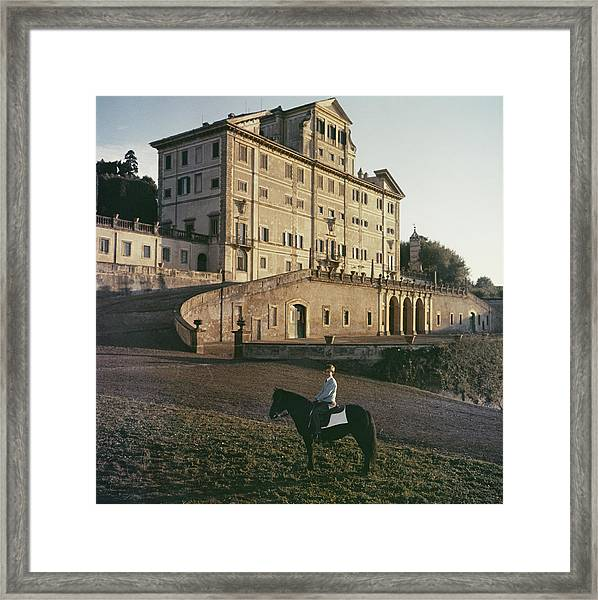 Don Giovanni Framed Print