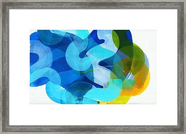 Don't Overthink Framed Print