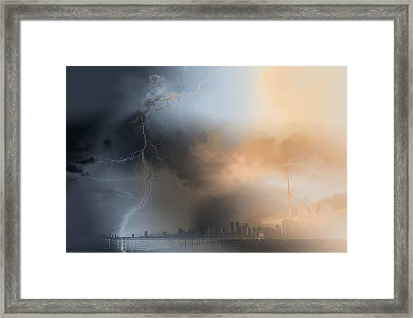 Doomsday Framed Print