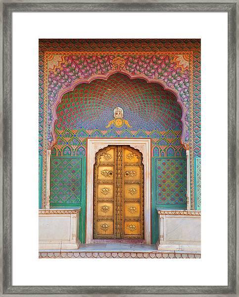 Doorway Framed Print by Grant Faint