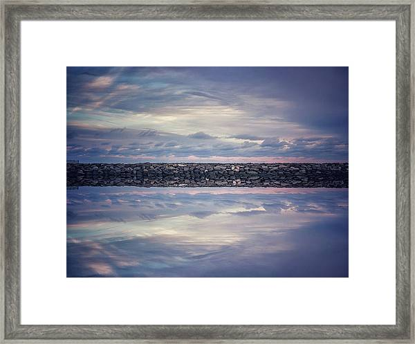 Framed Print featuring the photograph Double Exposure 2 by Steve Stanger