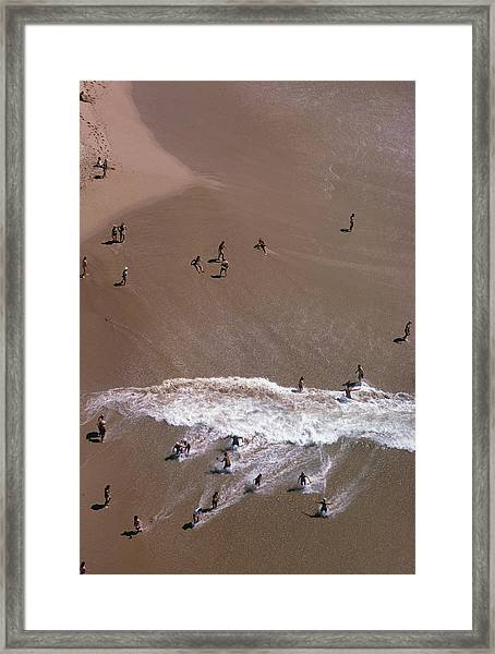 Down In Acapulco Framed Print
