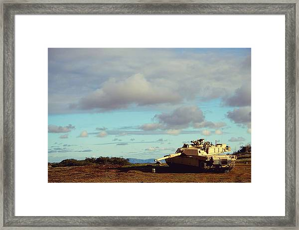 Downed But Not Out Framed Print