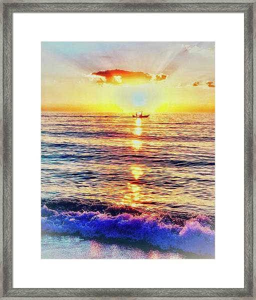 Downtime Framed Print